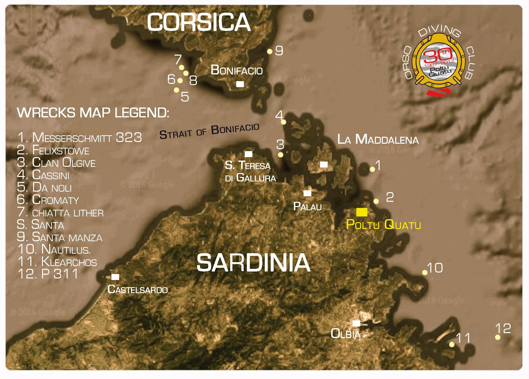 Relitti Nord Sardegna