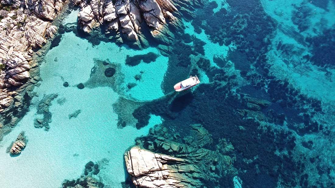 Schnorchelausflüge - Caprera - Sardinien